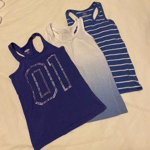 Old Navy - Size S 5/6- fitted tank tops
